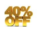 Скидки на всю одежду 40%