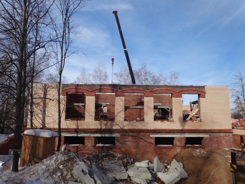 Строительство православной школы в Тамбове идет полным ходом