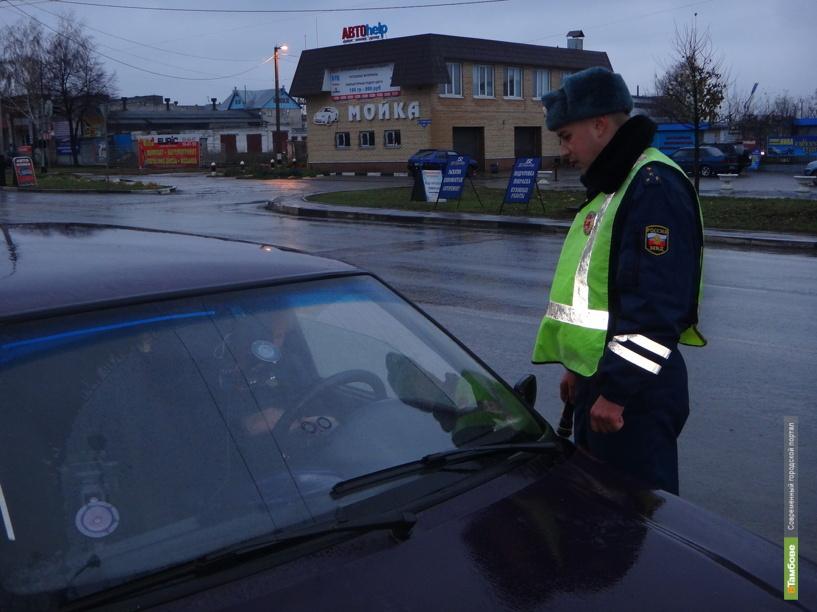 В Тамбове поймали семь нетрезвых автомобилистов