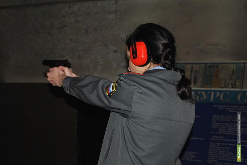 Среди тамбовских полицейских автоинспекторы показали лучшую физическую подготовку