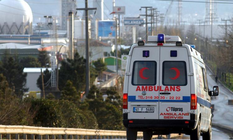 В Турции попал в ДТП пассажирский автобус