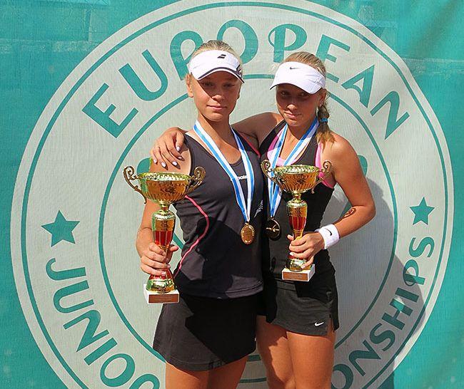 Тамбовская теннисистка выиграла первенство Европы