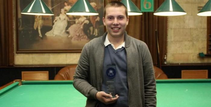 Бильярдист из Тамбова попал в восьмерку лучших спортсменов мира
