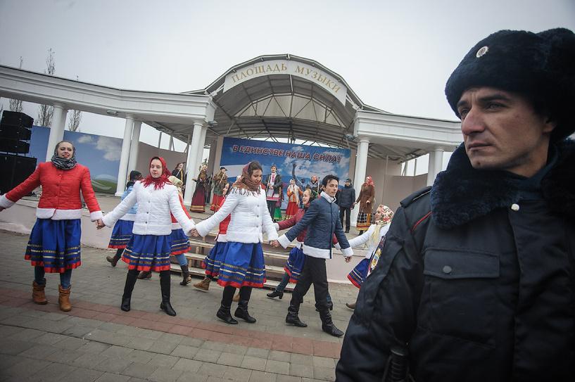 В Тамбове День народного единства прошёл на площади Музыки