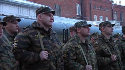 40 тамбовских омоновцев вернулись из Чечни