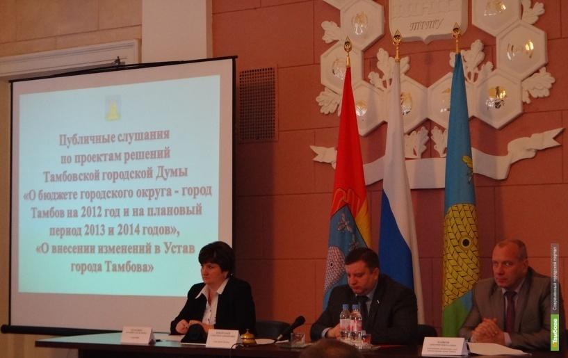 На расходы Тамбову не хватает четверти миллиарда рублей