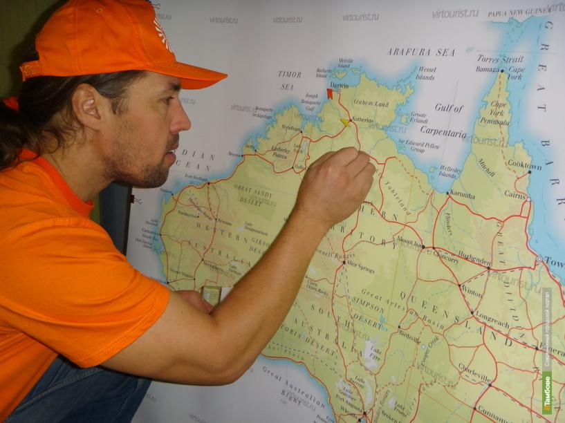 Александр Осипов почти на два месяца покидает родину
