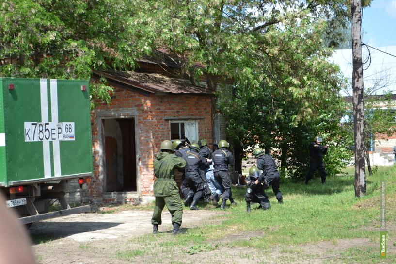В Тамбовской области прошли масштабные антитеррористические учения
