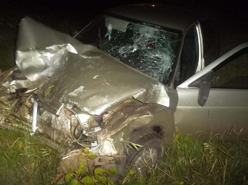 В Рассказовском районе в аварии пострадали пять человек
