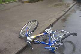 Табовчанина на велосипеде «догнал» автомобиль