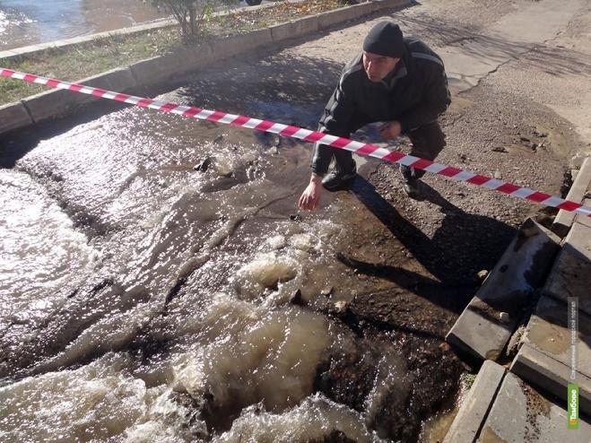 Тамбовщина пережила лютые морозы без серьезных коммунальных аварий