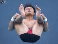 Смешные лица чемпионата по водным видам спорта