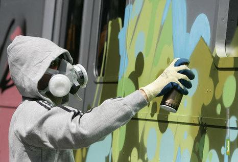 Граффитчиков в Тамбове привлекут к уголовной ответственности