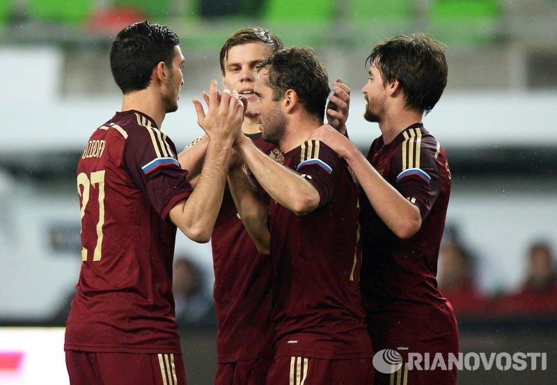 Сборная России по футболу одолела Венгрию в товарищеском матче