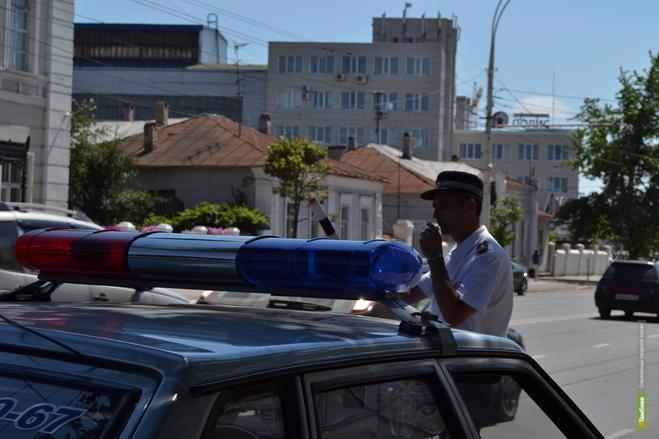 Тамбовские автоинспекторы вышли на пешеходные переходы