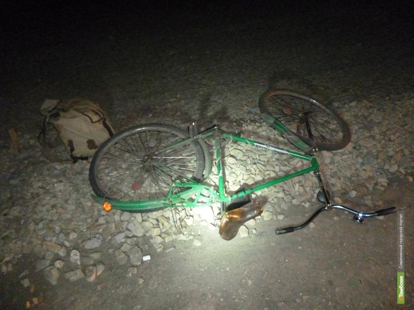 Под Тамбовом КАМАЗ сбил велосипедиста-пенсионера