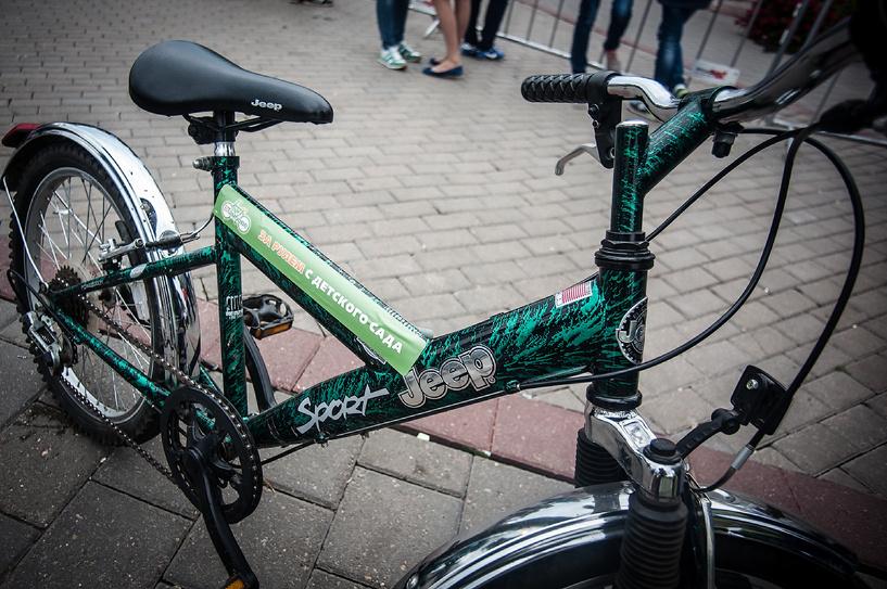 ВелосипедуДА: украшаем свой байк наклейками