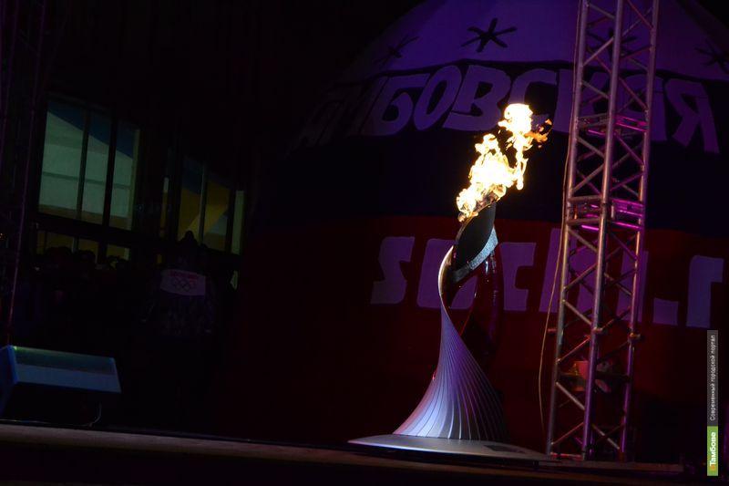 В Тамбове завершилась эстафета Олимпийского огня