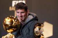 Аргентинец Месси в очередной раз выиграл «Золотой мяч»