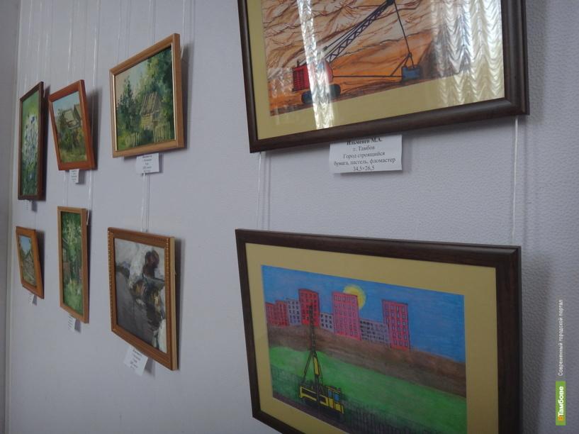 В Тамбове открылась персональная выставка Станислава Волостных