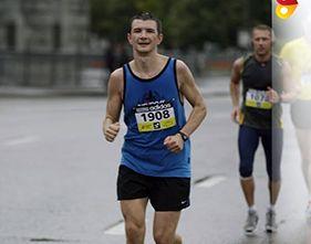 Аспирант ТГУ поучаствовал в первом Московском марафоне