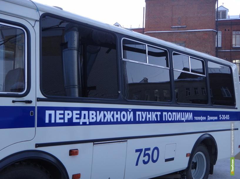 Жительница Мичуринска обнаружила свой автомобиль без трёх колёс