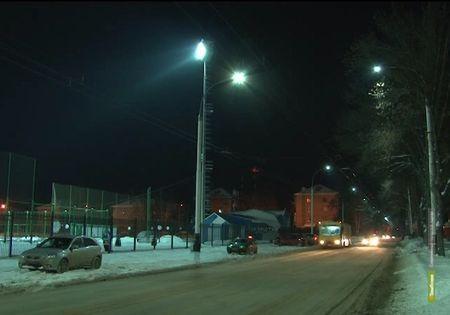 В Тамбове поставили энергосберегающие фонари