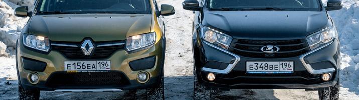 Или не брат? С лупой ищем отличия Lada Xray от Renault Sandero