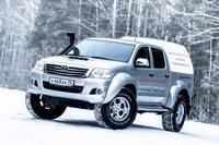 Конец света ВТамбове: спасаемся на Toyota HiLux Arctic Trucks 35