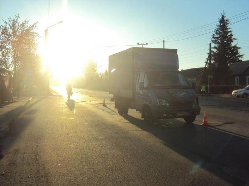 В Тамбове водитель «ГАЗели» сбил женщину на пешеходном переходе