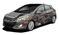 Hyundai придумал машину по мотивам сериала Walking dead