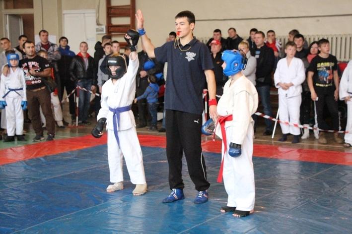 В областном центре состоялся открытый турнир Тамбовской области по рукопашному бою «Юный динамовец»