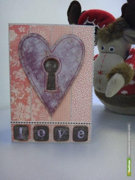 Мастер-класс по созданию открытки на День Святого Валентина