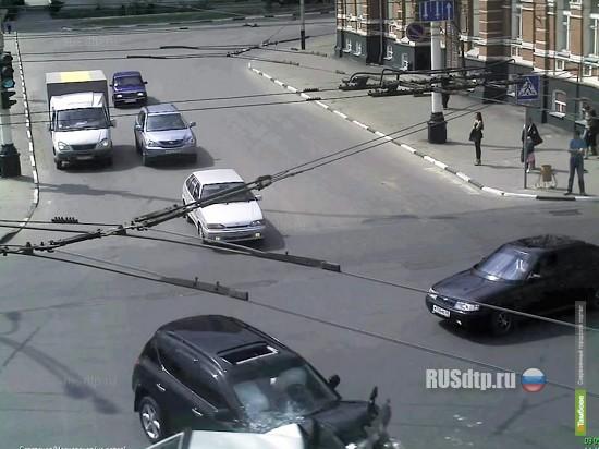 Еще 6 тамбовских перекрестков попадут под прицел видеокамер