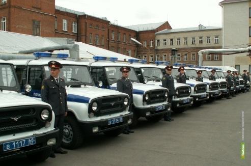 Тамбовских полицейских посадили на новенькие УАЗики