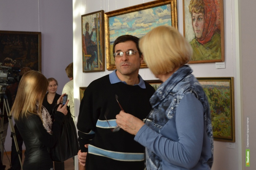 В областной картинной галерее выставили работы Соловьёва