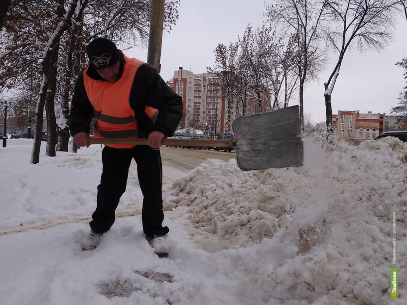 В Тамбове организуют два «склада» для снега