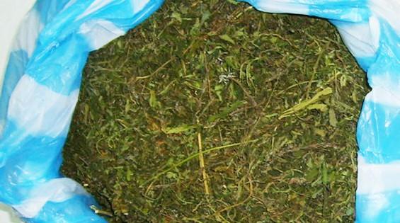 Полицейские изъяли у мужчины 52 грамма марихуаны