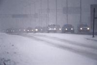 Во Франции 24 тысячи домов остались без света из-за снегопада