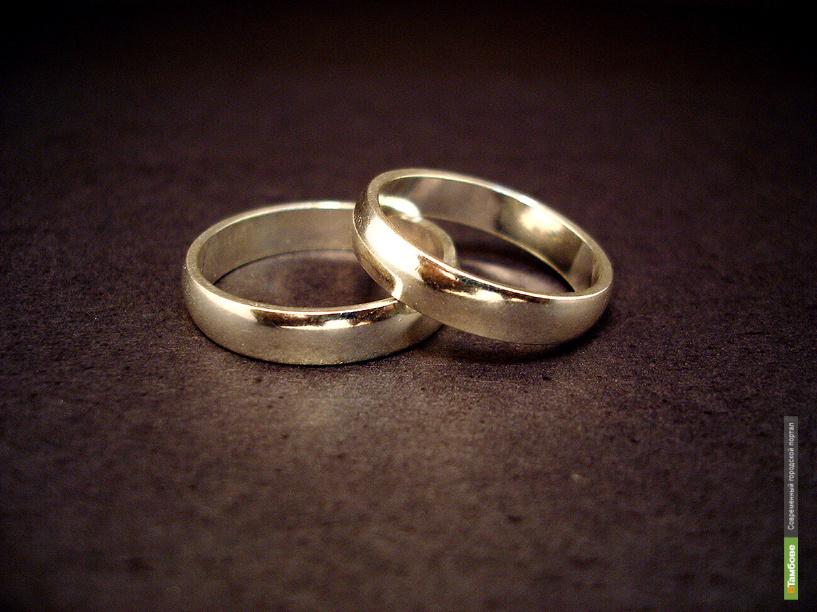 В 2012 году узами брака себя связали почти 7 с половиной тысяч пар тамбовчан
