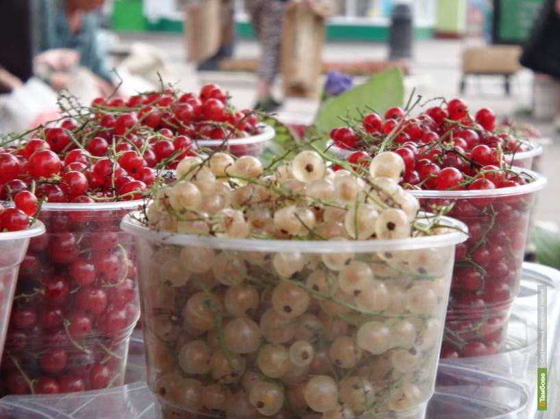 В Тамбове начался ягодный бум