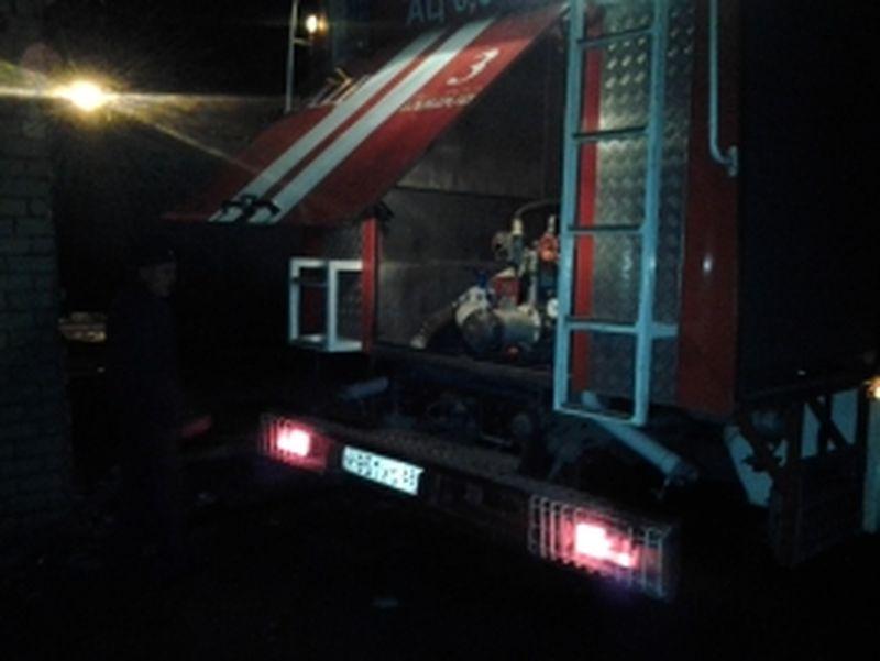 В Тамбове горела баня: есть пострадавший