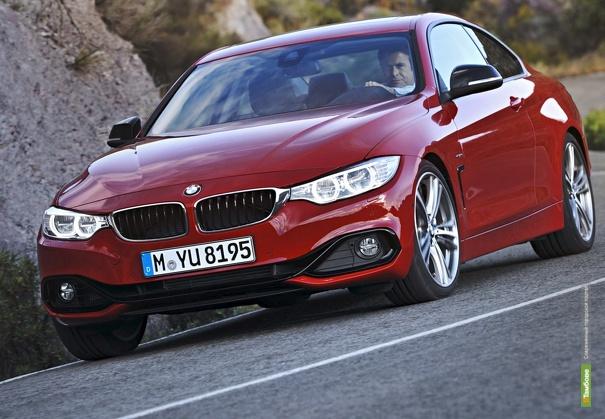 BMW представила серийную версию купе 4 серии