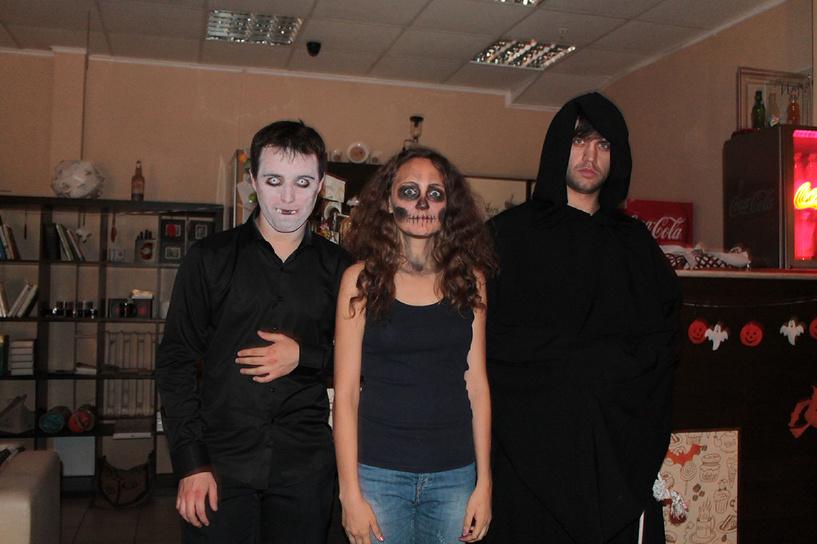 В честь Хэллоуина тамбовчане побывали в импровизированном склепе