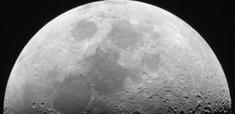 Учёные обнаружили большие запасы воды внутри Луны