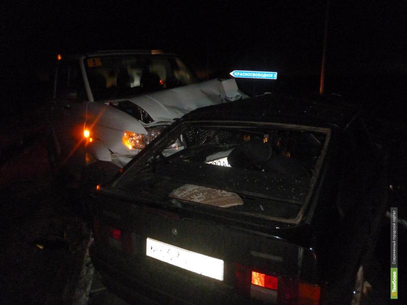 В Тамбовской области в лобовом столкновении погиб молодой мужчина
