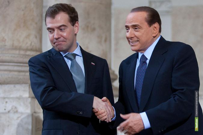Чтобы пообщаться с российским президентом, тамбовским студентам пришлось поехать в Рим
