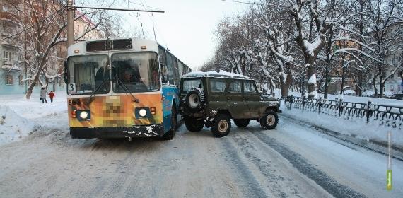 За неделю в Тамбове 24 человека пострадали в автомобильных авариях