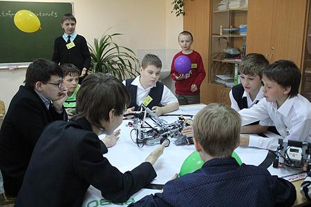 Робототехника «захватывает» школы Тамбовской области