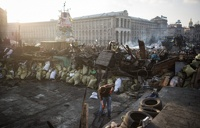 В Киеве оппозиция захватила правительственный квартал и ждет отставки Януковича